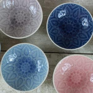 Colourful Tapas bowls