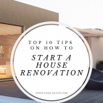 renovating a house step by step